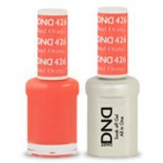 DND GEL 426 Pastel Orange 2/Pack-Nail Supply UK