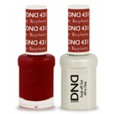 DND GEL 431 Raspberry 2/Pack-Nail Supply UK