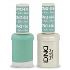 DND GEL 436 Baby Blue 2/Pack-Nail Supply UK