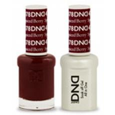 DND GEL 478 Spiced Berry 2/Pack-Nail Supply UK