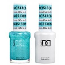 DND GEL 513 Ode to Green 2/Pack-Nail Supply UK