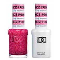 DND GEL 519 Strawberry Candy 2/Pack-Nail Supply UK