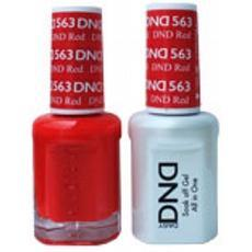 DND GEL 563 DND GEL Red 2/Pack-Nail Supply UK