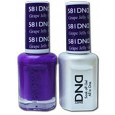DND GEL 581 Grape Jelly 2/Pack-Nail Supply UK