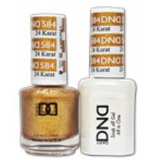 DND GEL 584 24 Karat 2/Pack-Nail Supply UK