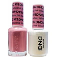DND GEL 592 Italian Pink 2/Pack-Nail Supply UK