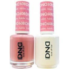 DND GEL 608 Adobe 2/Pack-Nail Supply UK