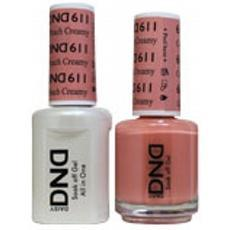 DND GEL 611 Creamy Peach 2/Pack-Nail Supply UK