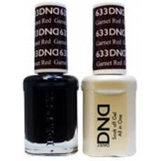 DND GEL 633 Garnet Red 2/Pack-Nail Supply UK