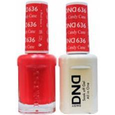 DND GEL 636 Candy Cane 2/Pack-Nail Supply UK