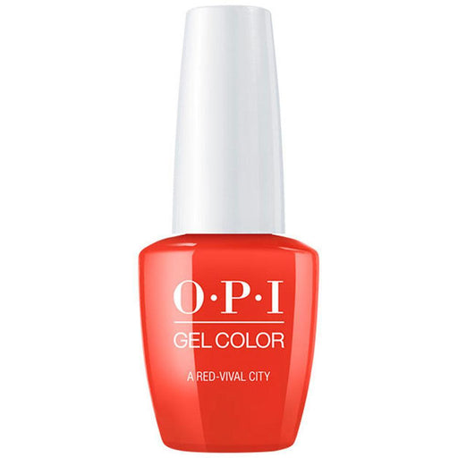 A Red-vival City OPI Gel Color (GC L22)-Nail Supply UK