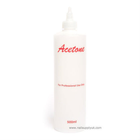 Acetone Empty Plastic 500ml