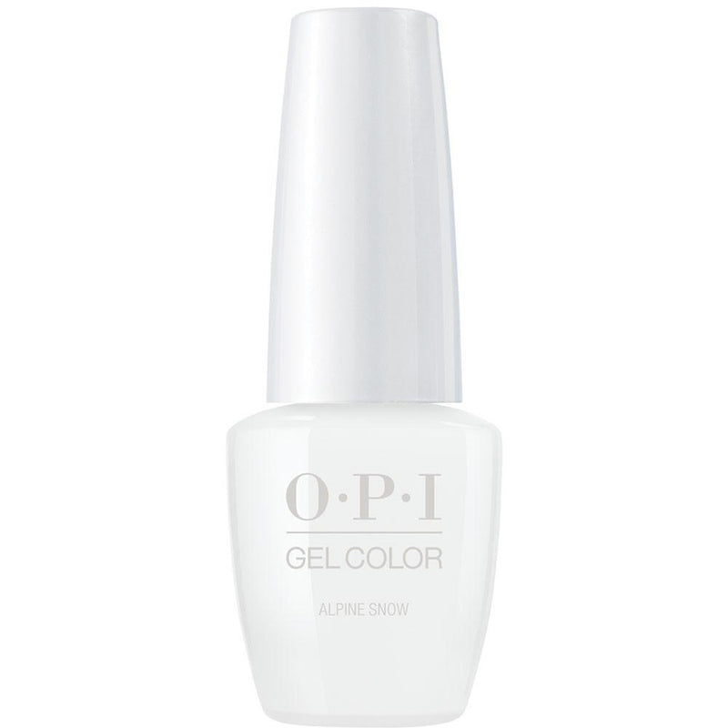 OPI Gel Color Alpine Snow . (GC L00)-Nail Supply UK