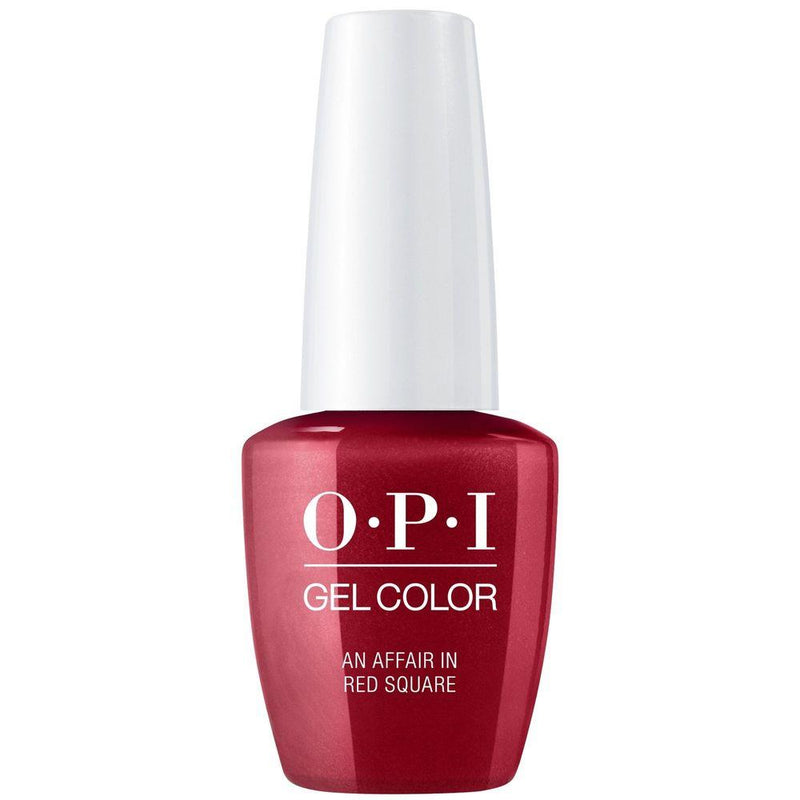 OPI Gel Color An Affair in Red Square . (GC R53)-Nail Supply UK