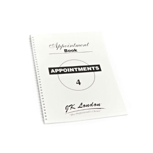 4 Columns Appointment Book-Nail Supply UK