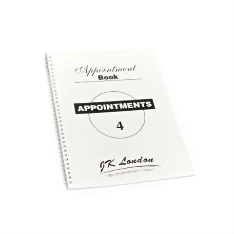 4 Columns Appointment Book