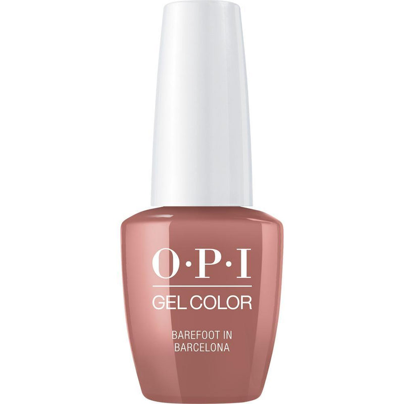 OPI Gel Color Barefoot In Barcelona . (GC E41)-Nail Supply UK