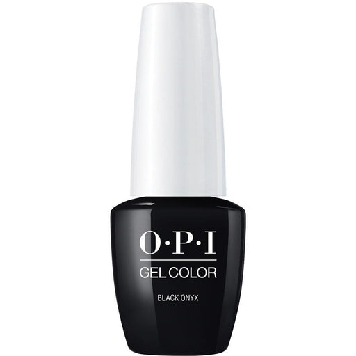 Black Onyx OPI Gel Color (GC T02)-Nail Supply UK