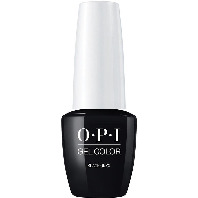 OPI Gel Color Black Onyx . (GC T02)-Nail Supply UK