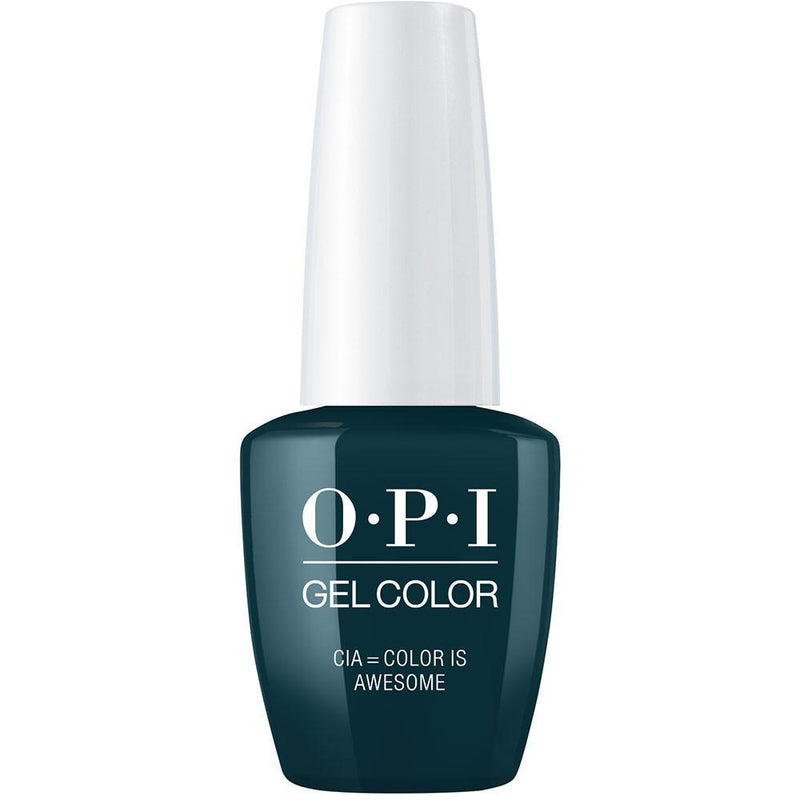OPI Gel Color CIA = Color is Awesome . (GC W53)-Nail Supply UK