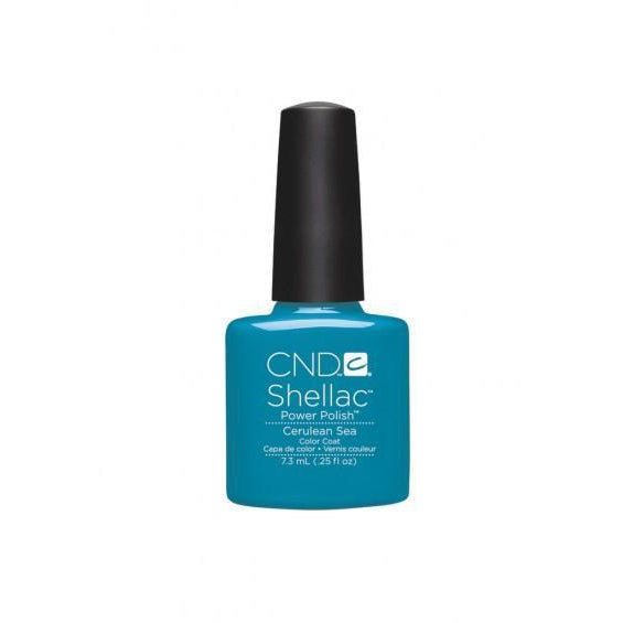 CND Shellac Cerulean Sea-Nail Supply UK