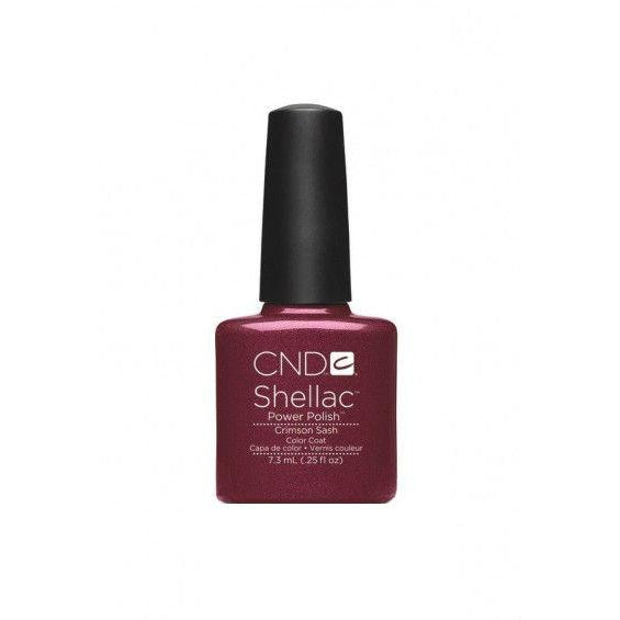 CND Shellac Crimson Sash-Nail Supply UK