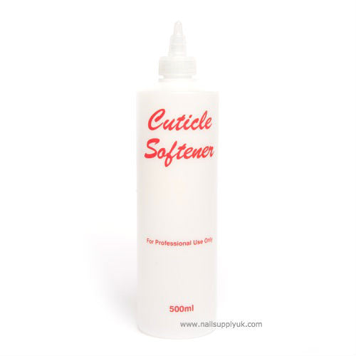 Cuticle softener Empty Plastic 500ml-Nail Supply UK