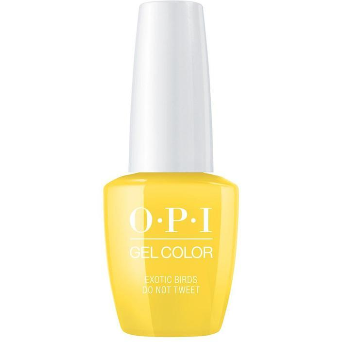 OPI Gel Color Exotic Birds Do Not Tweet . (GC F91)-Nail Supply UK
