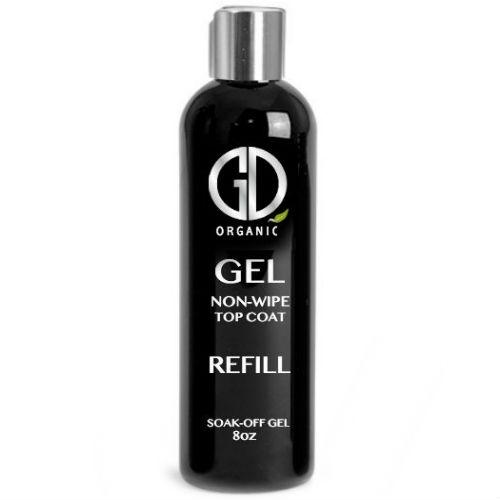 GD Universal Gel Non-wipe Top Coat GD Organic Gel 8oz