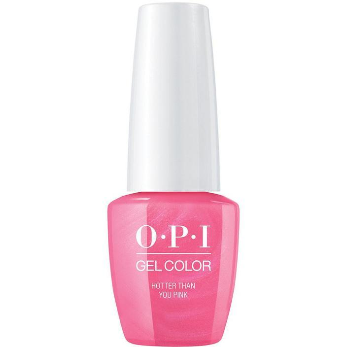 OPI Gel Color Hotter Than You Pink . (GC N36)-Nail Supply UK