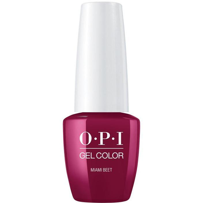 OPI Gel Color Miami Beet . (GC B78)-Nail Supply UK