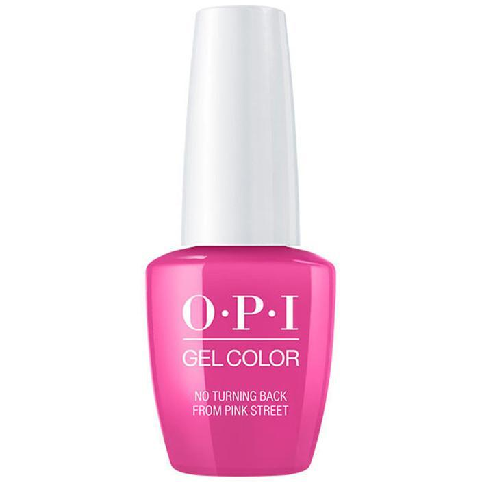 OPI Gel Color No Turning Back From Pink Street (GC L19)-Nail Supply UK