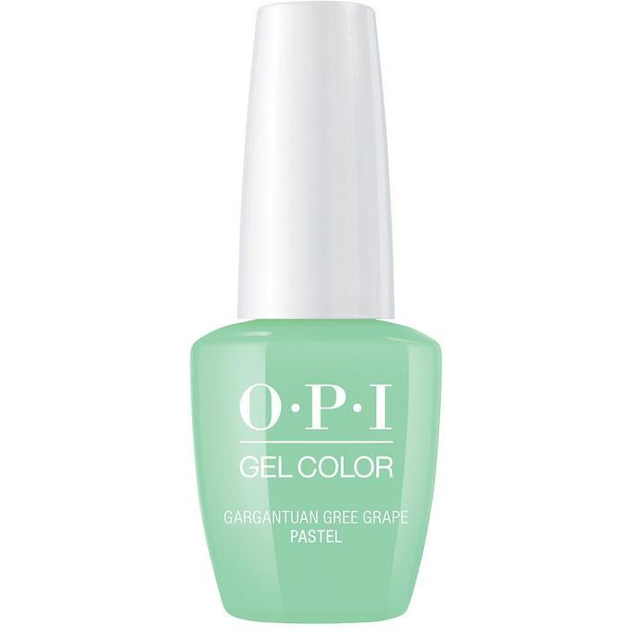 OPI Gel Color Gargantuan Green Grape (GC B44)-Nail Supply UK