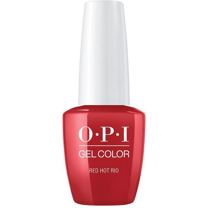 OPI Gel Color Red Hot Rio . (GC A70)-Nail Supply UK