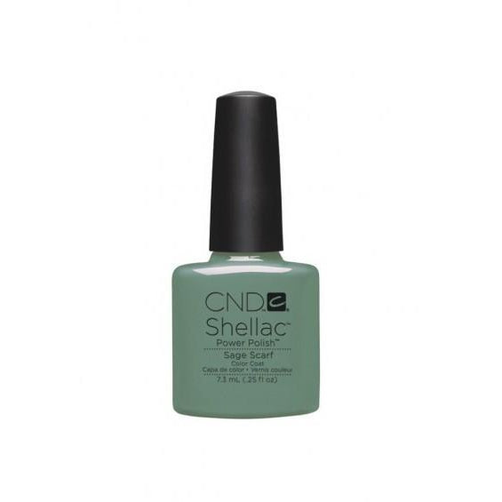CND Shellac Sage Scarf-Nail Supply UK