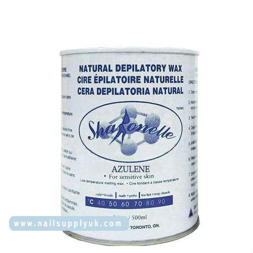 Sharonelle Azulene Natural Depilatory Soft Wax 18oz-Nail Supply UK