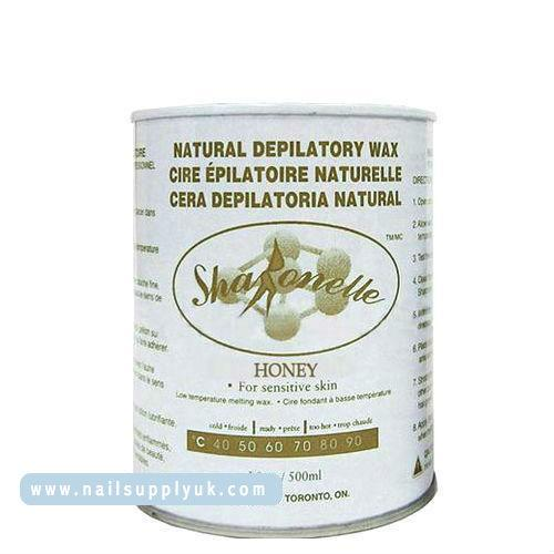 Sharonelle Honey Natural Depilatory Soft Wax 18oz-Nail Supply UK