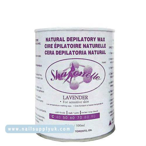 Sharonelle Lavender Natural Depilatory Soft Wax 18oz-Nail Supply UK