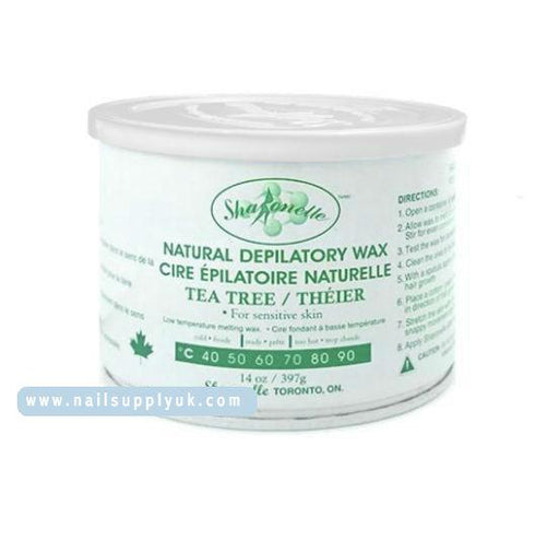 Sharonelle Soft Wax Tea Tree 14oz-Nail Supply UK