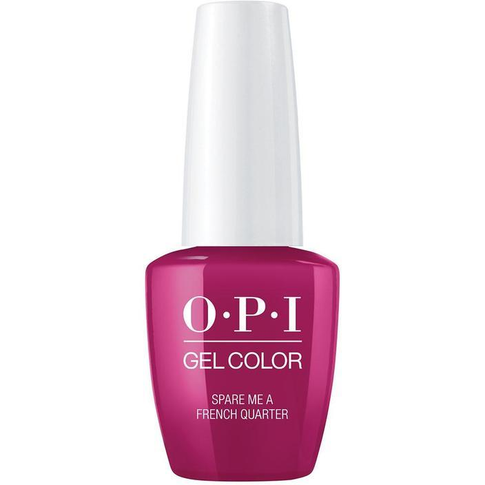 OPI Gel Color Spare Me a French Quarter . (GC N55)-Nail Supply UK