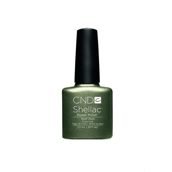 CND Shellac Steel Gaze-Nail Supply UK