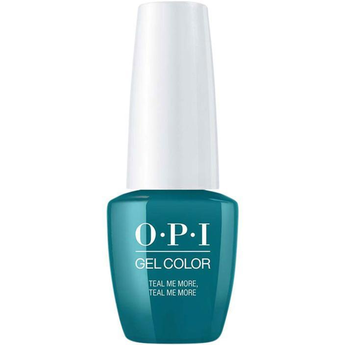 OPI Gel Color Teal Me More, Teal Me More . (GC G45)-Nail Supply UK