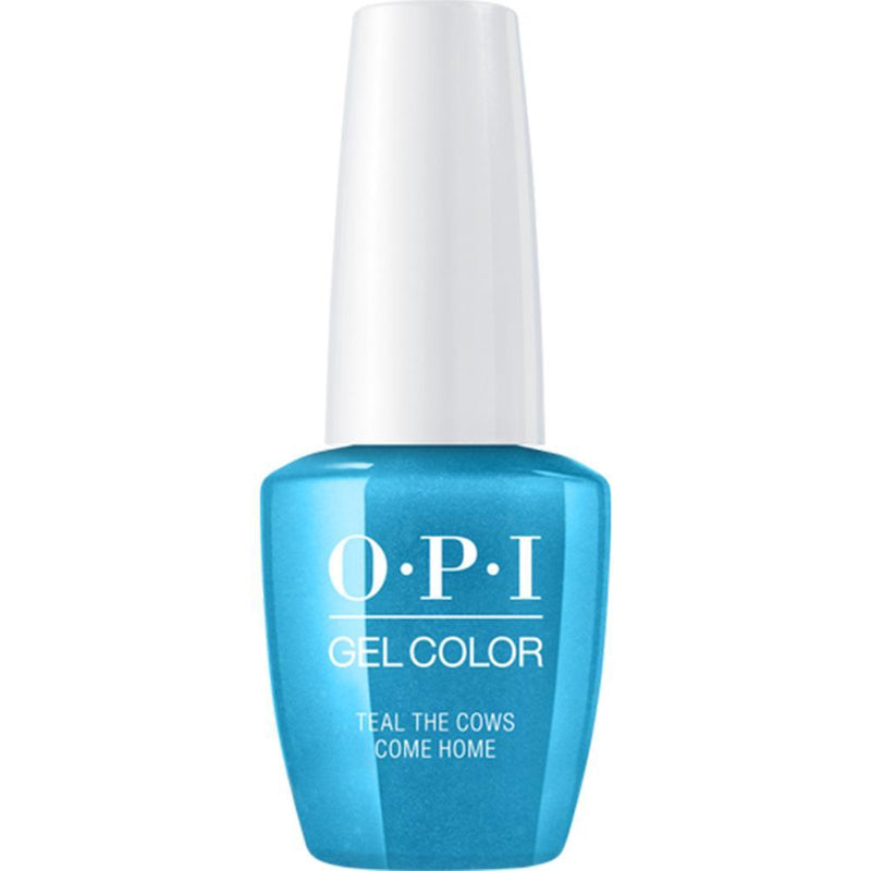 OPI Gel Color Teal The Cows Come Home .-Nail Supply UK