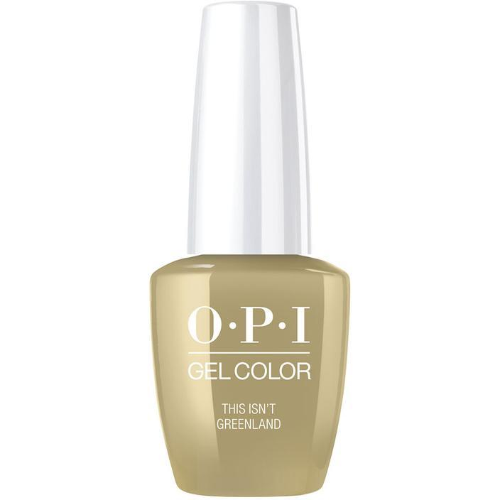 OPI Gel Color This Isnt Greenland gc i58-Nail Supply UK