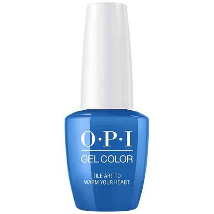 OPI Gel Color Tile Art to Warm Your Heart . (GC L25)-Nail Supply UK