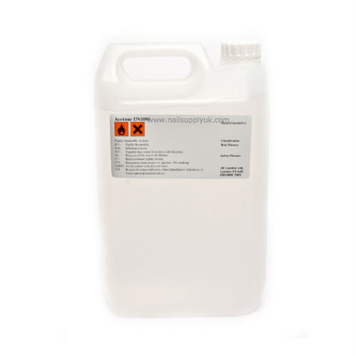 Acetone (ACE) 99% Economy Gallon-Nail Supply UK