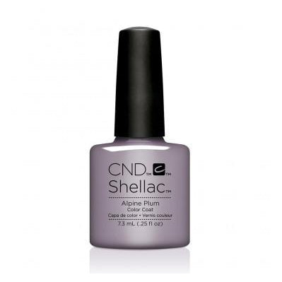 CND Shellac Alpine Plum-Nail Supply UK