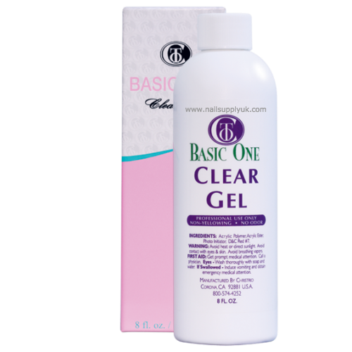 Christrio Builder Gel Clear 8oz-Nail Supply UK