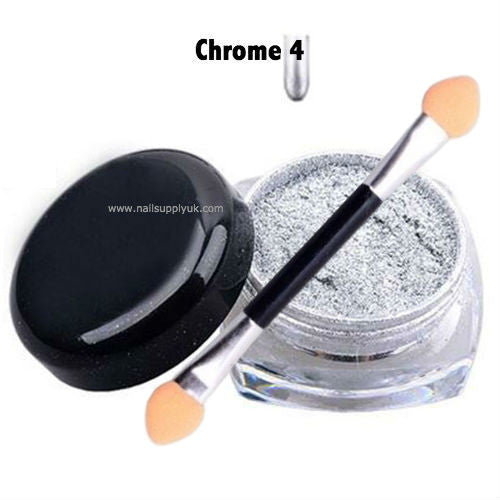 Chrome N4 Nail Powder 2g-Nail Supply UK