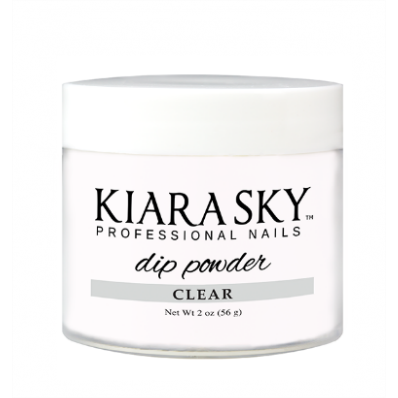 KIARA SKY DIP POWDER - CLEAR 2OZ-Nail Supply UK